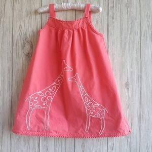 Gymboree Sunny Safari Giraffe Shift Dress Size 2T